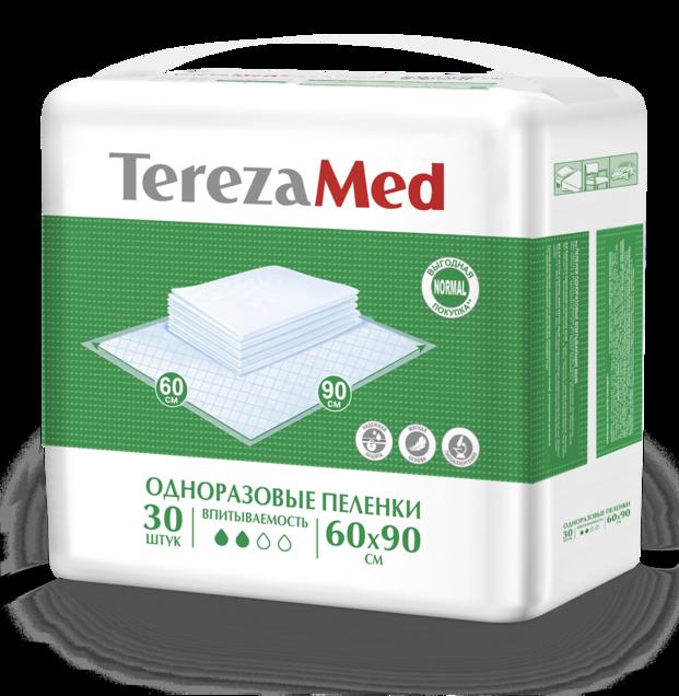 фото упаковки TerezaMed Normal пеленки одноразовые
