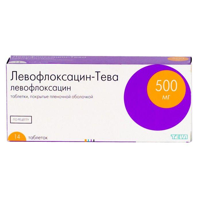 фото упаковки Левофлоксацин-Тева