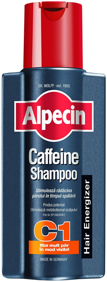 фото упаковки Alpecin Шампунь с кофеином стимулирующий рост волос