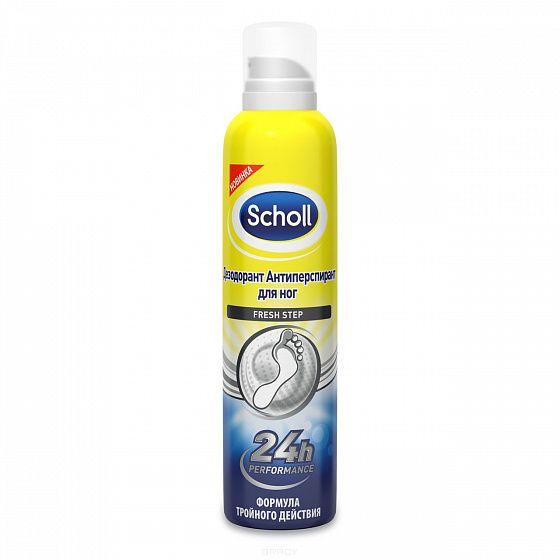 фото упаковки Scholl Fresh Step дезодорант антиперспирант для ног