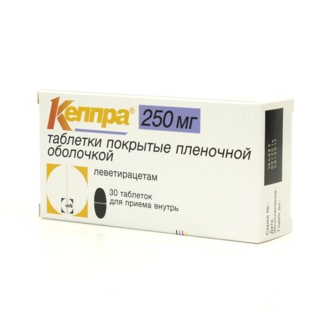фото упаковки Кеппра