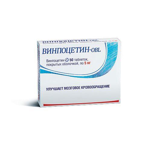фото упаковки Винпоцетин-OBL