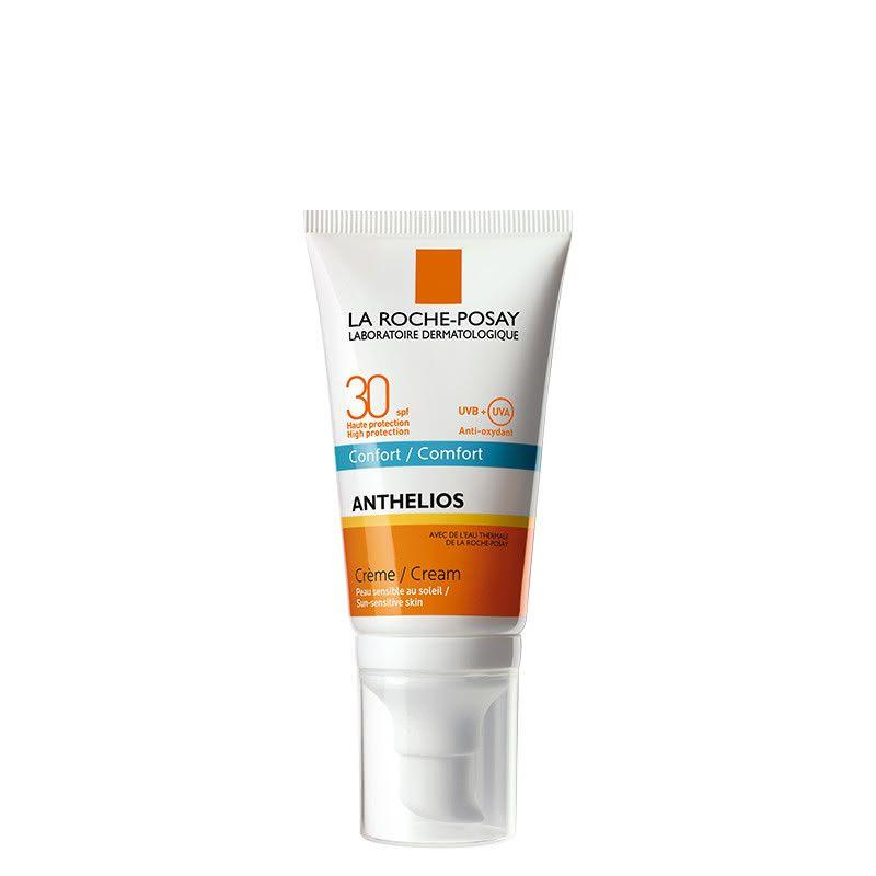 фото упаковки La Roche-Posay Anthelios Ultra SPF30 крем для лица и кожи вокруг глаз