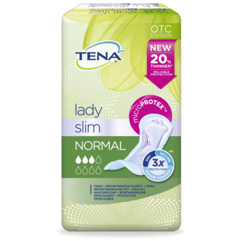 фото упаковки Прокладки урологические Tena Lady Normal