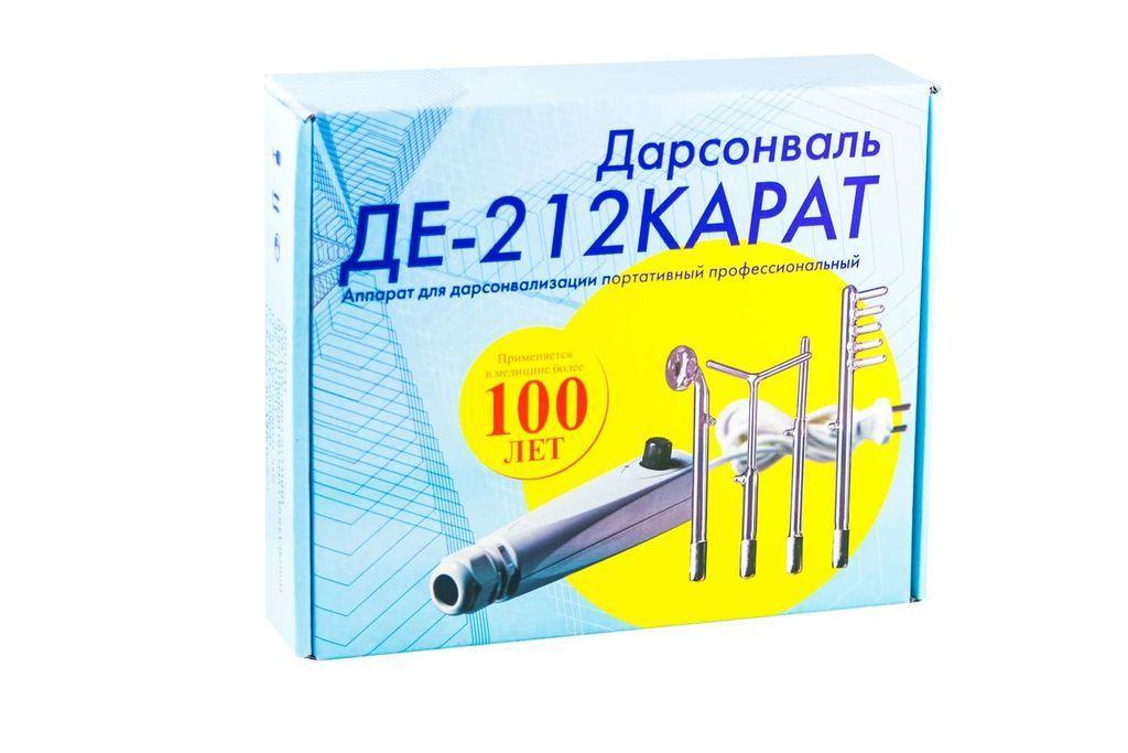 фото упаковки Дарсонваль ДЕ-212 Карат