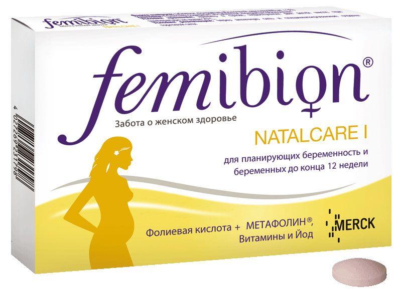 фото упаковки Фемибион Наталкер I