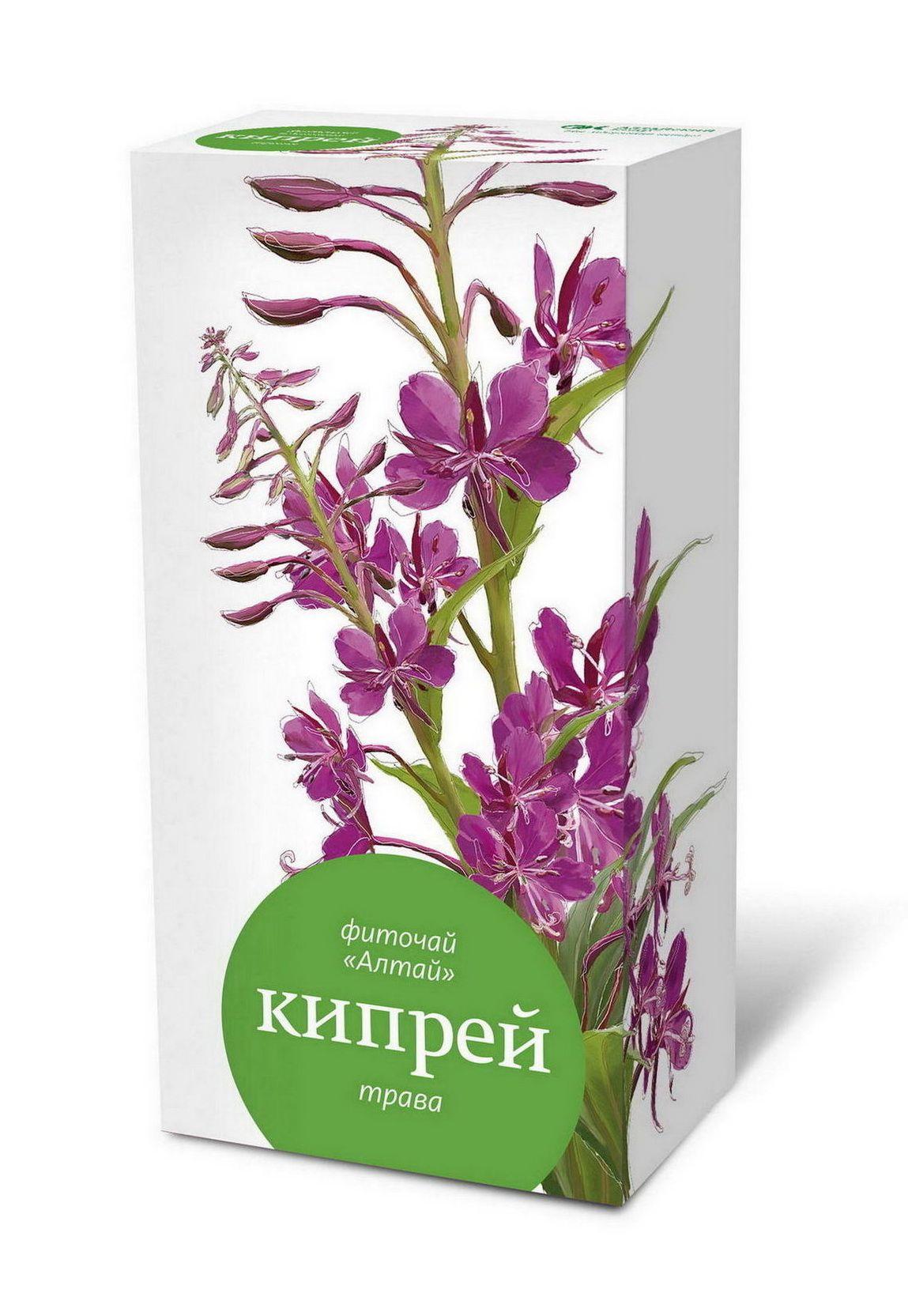 фото упаковки Фиточай Алтай Кипрей трава Иван-чай