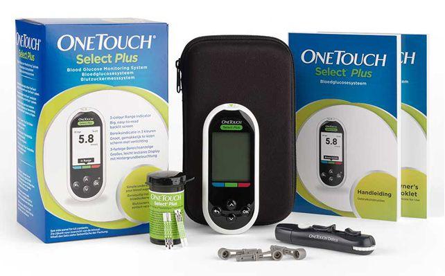 Глюкометр портативный OneTouch Select Plus, 1шт.