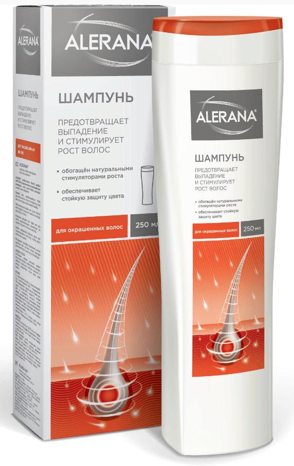 фото упаковки Алерана шампунь для окрашенных волос