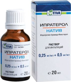 фото упаковки Ипратерол-натив