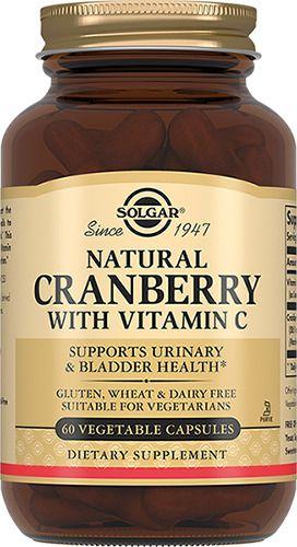 фото упаковки Solgar Натуральная клюква с витамином C