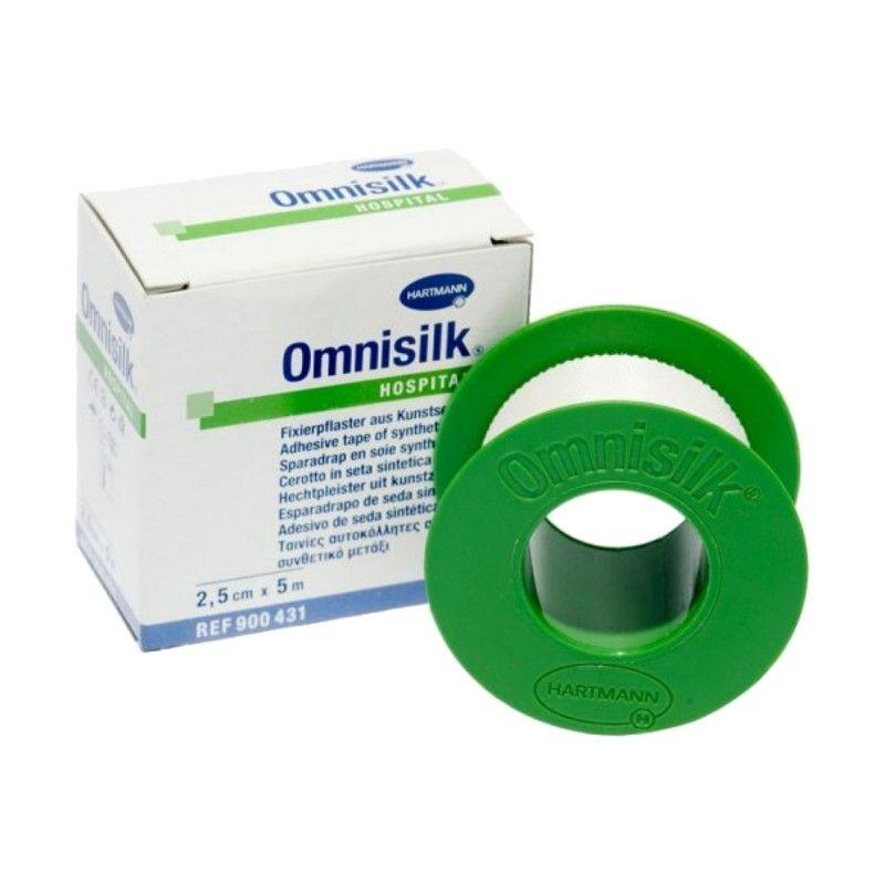 фото упаковки Omnisilk Пластырь фиксирующий
