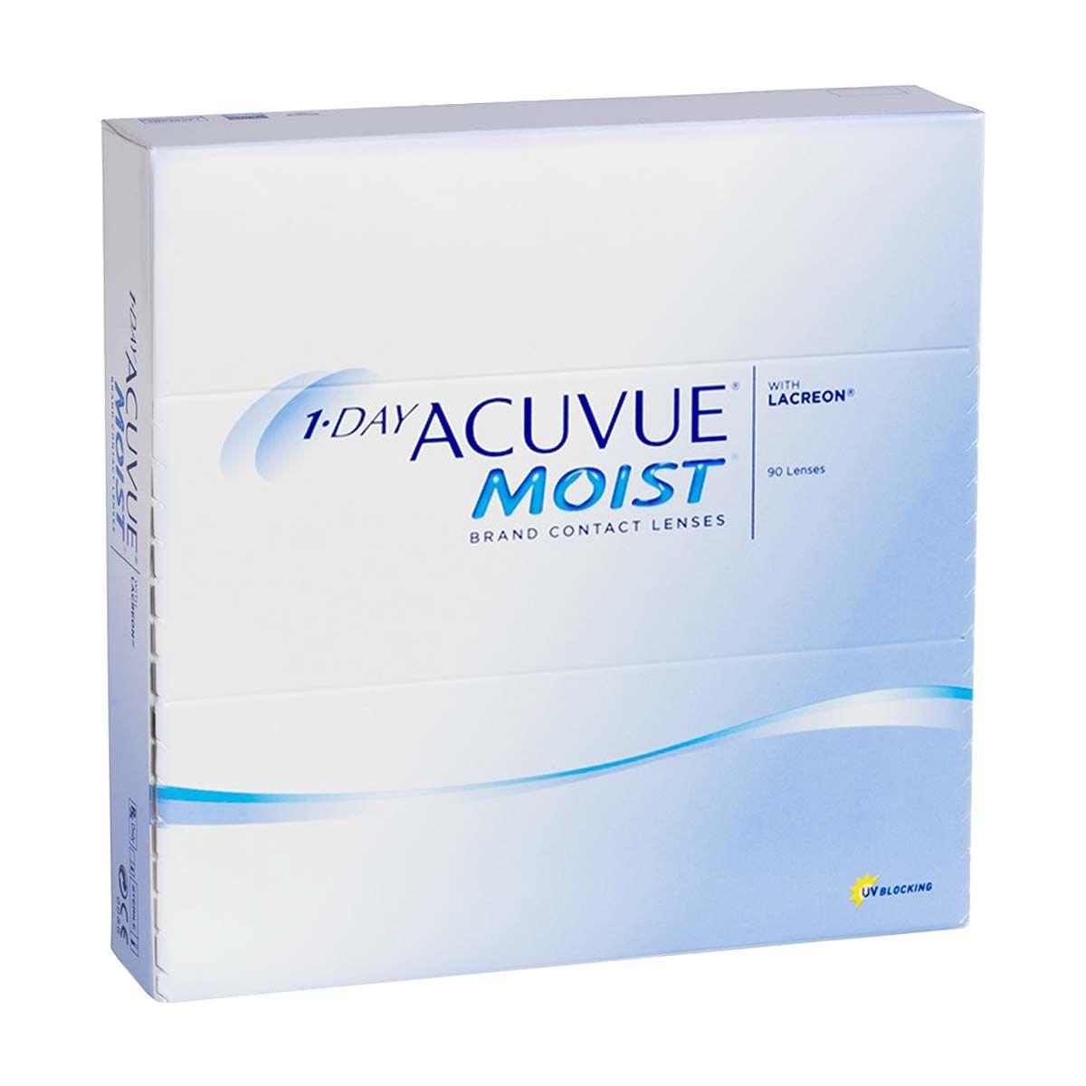 фото упаковки 1-Day Acuvue Moist Линзы контактные Однодневные