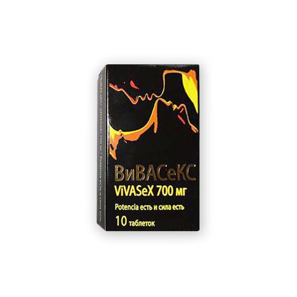 ВиВАСеКС ViVASeX 700 мг, 700 мг, таблетки, 10 шт.