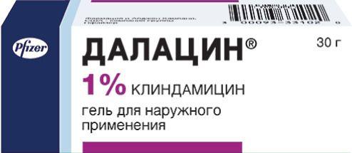фото упаковки Далацин (гель)