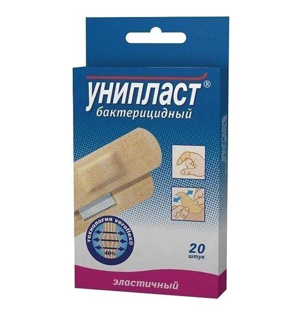 фото упаковки Унипласт лейкопластырь бактерицидный