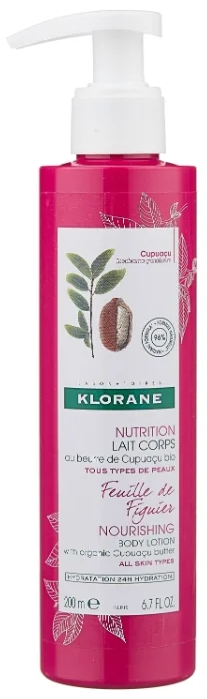 фото упаковки Klorane молочко для тела нежный инжир