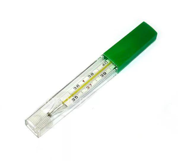 Термометр медицинский ртутный, 1 шт.