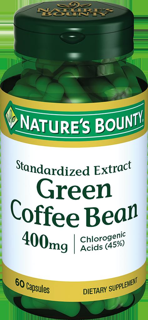 фото упаковки Natures Bounty Зеленые кофейные зерна 400 мг