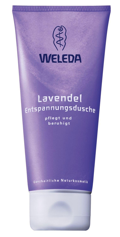 фото упаковки Weleda Гель для душа лавандовый расслабляющий