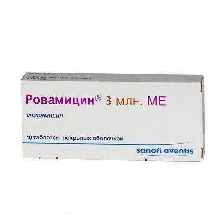 фото упаковки Ровамицин