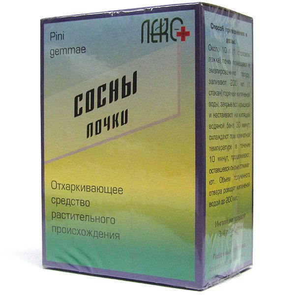 фото упаковки Сосны почки