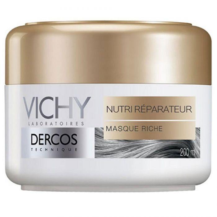 Vichy Dercos маска питательно-восстанавливающая, маска для волос, 200 мл, 1 шт.