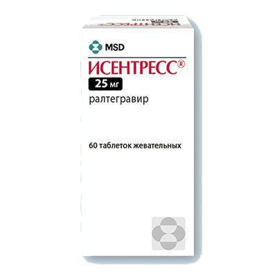 фото упаковки Исентресс