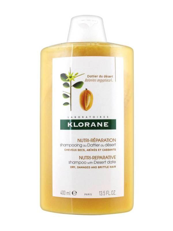 фото упаковки Klorane Шампунь питательный с маслом финика пустынного