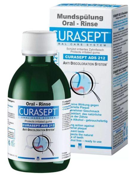 Curasept Ополаскиватель ADS212, раствор для полоскания полости рта, 200 мл, 1 шт.