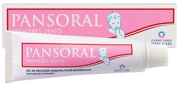 фото упаковки Пансорал первые зубы