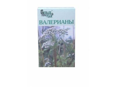 Валерианы корневища с корнями, сырье растительное измельченное, 50 г, 1 шт.