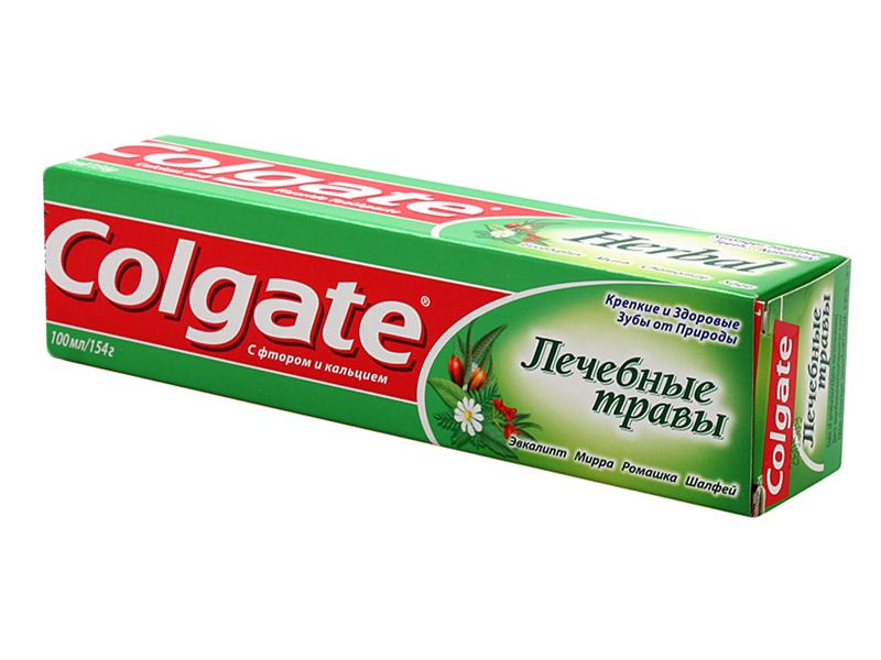 фото упаковки Colgate Лечебные травы зубная паста