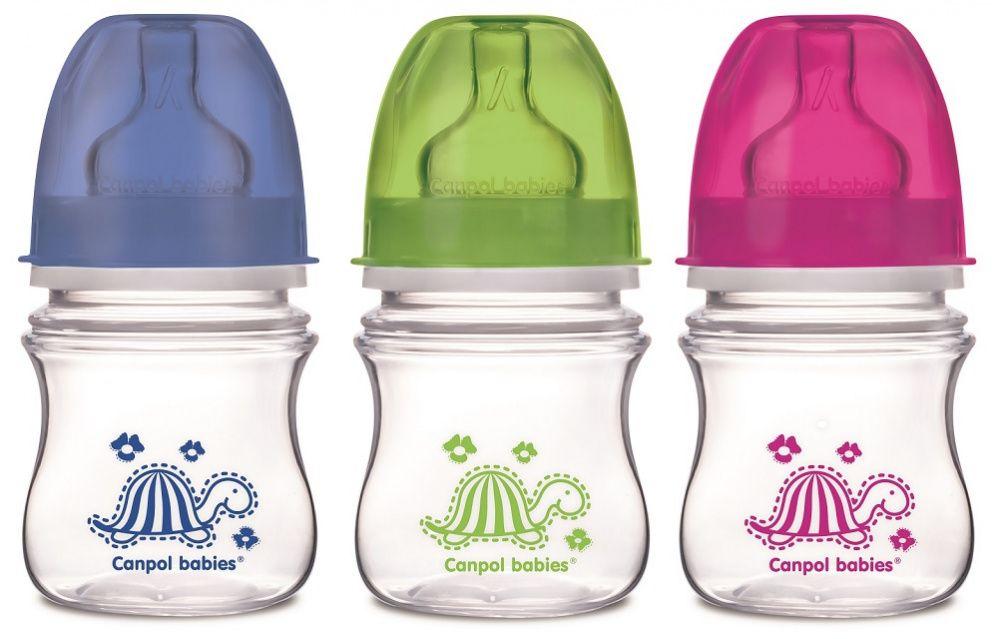 фото упаковки Canpol PP EasyStart бутылочка с широким горлышком антиколиковая