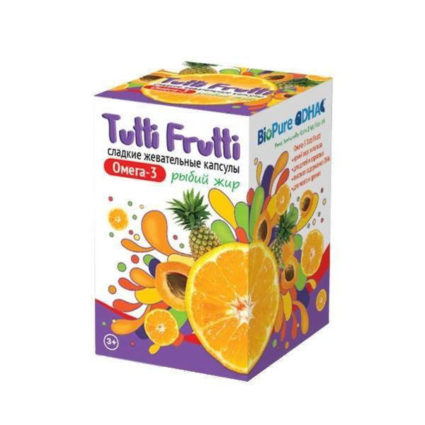 фото упаковки Tutti Frutti Омега 3