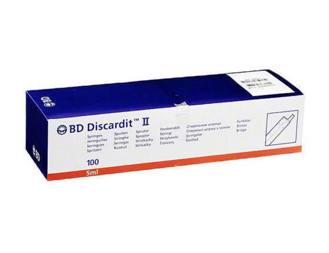 фото упаковки Шприц BD DISCARDIT II 5мл