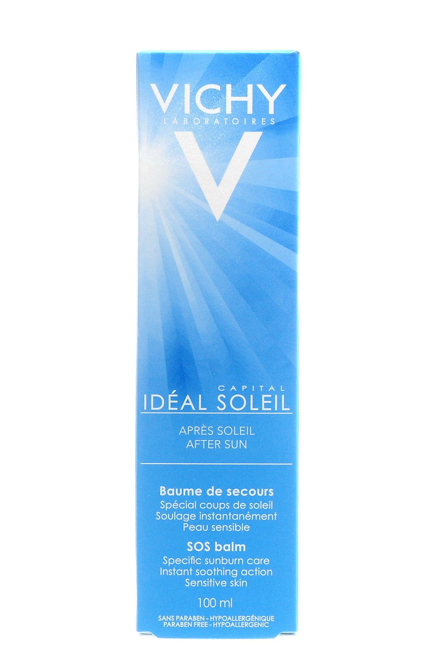 фото упаковки Vichy Capital Ideal Soleil бальзам после солнечных ожогов