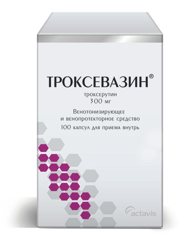 фото упаковки Троксевазин