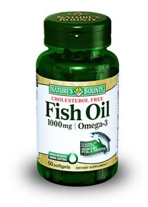 фото упаковки Natures Bounty Рыбий жир 1000 мг Омега-3