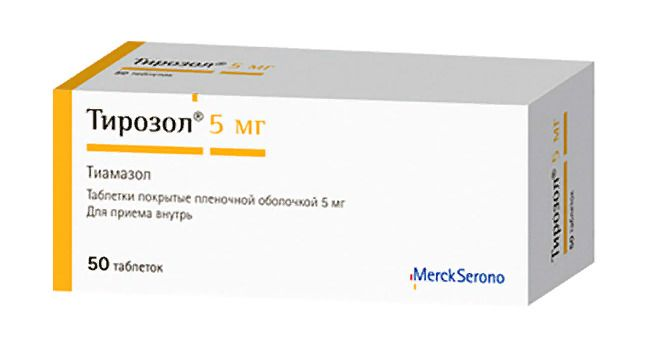 фото упаковки Тирозол