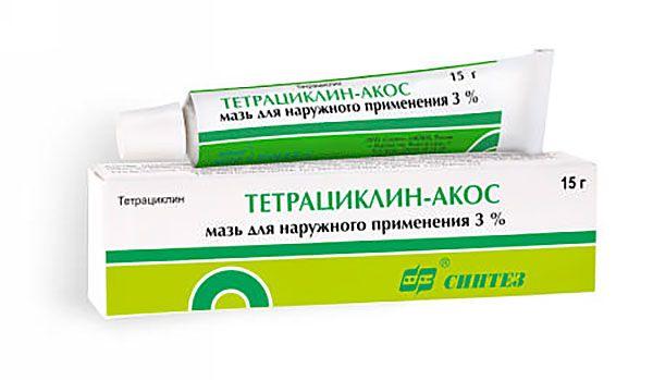 фото упаковки Тетрациклин-АКОС