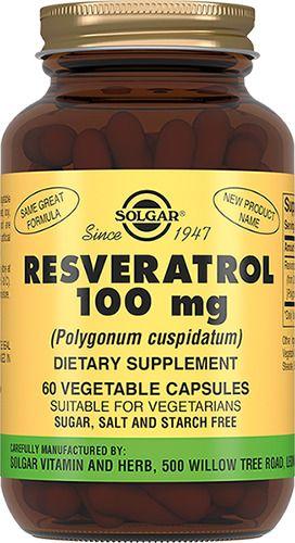 фото упаковки Solgar Ресвератрол 100 мг