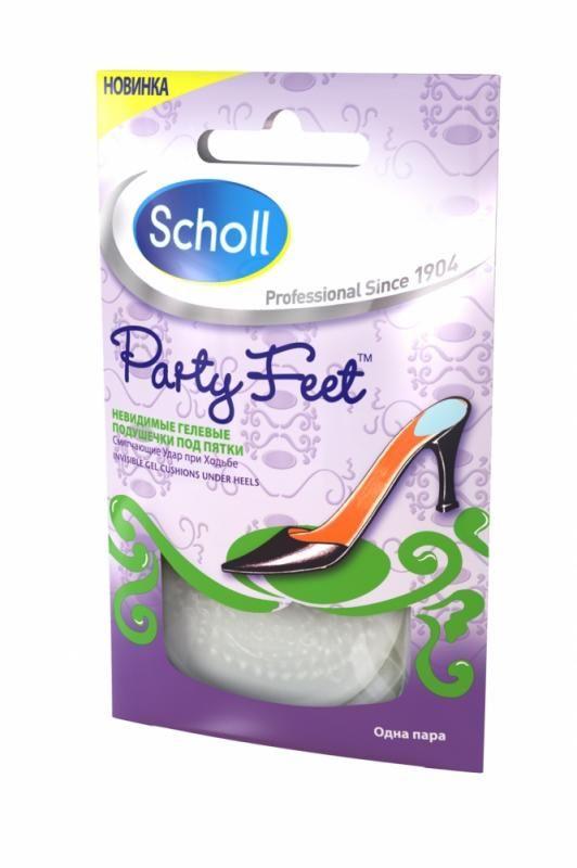 фото упаковки Scholl Невидимые гелевые подушечки под пятки