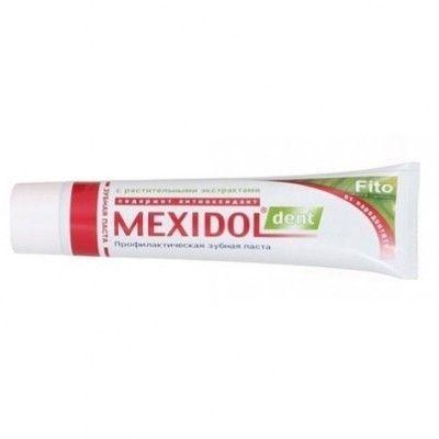 фото упаковки Mexidol dent Fito Зубная паста