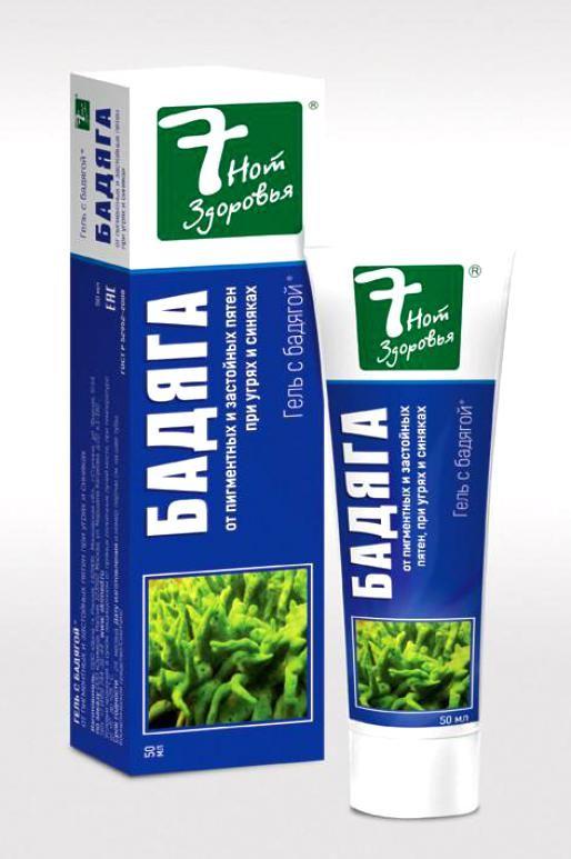 фото упаковки Бадяга гель 7 нот здоровья