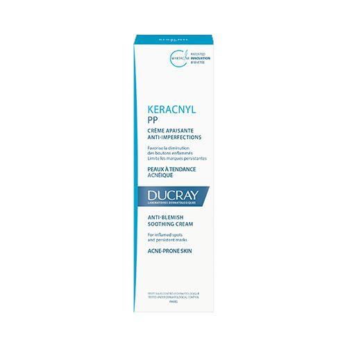 фото упаковки Ducray Keracnyl PP крем успокаивающий против дефектов кожи