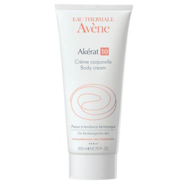 Avene Akerat 10 крем увлажняющий для тела, крем для тела, 200 мл, 1 шт.