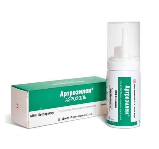 Артрозилен, 15%, аэрозоль для наружного применения, 25 мл, 1 шт.