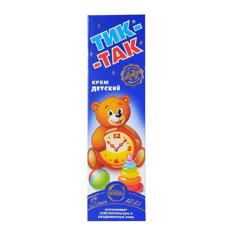 фото упаковки Крем детский Тик-Так
