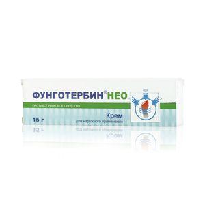 Фунготербин Нео, крем для наружного применения, 15 г, 1 шт.